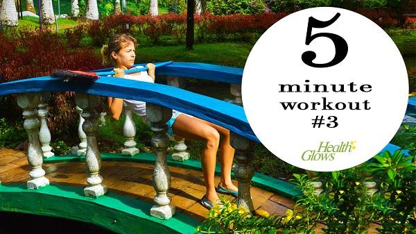 5 Minute Fitness – Ranchan, Borneo, Malaysia