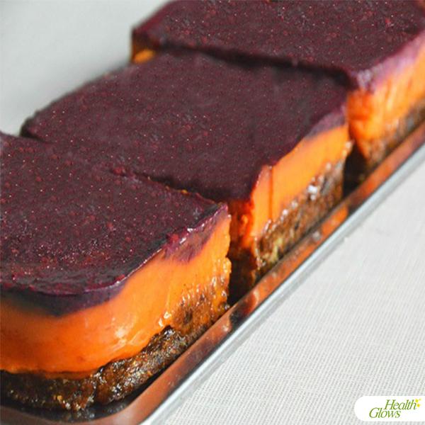 Raw Vegan Apricot Cake