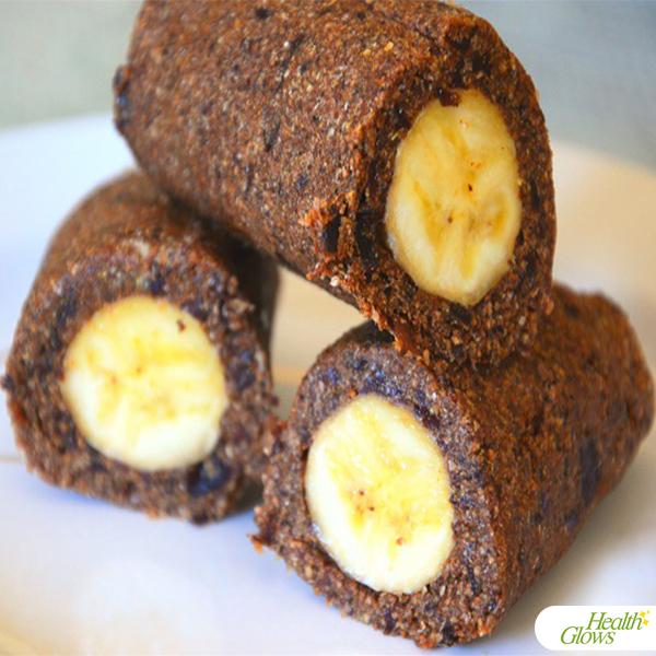 Raw Vegan Banana Rolls