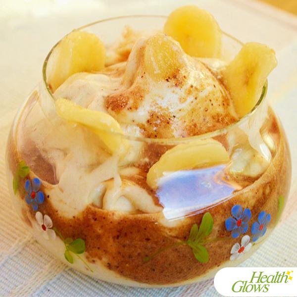 Fruit Ice-Cream in Hot Sauce