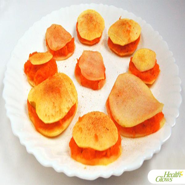 Raw Mini Butternut Squash Pies