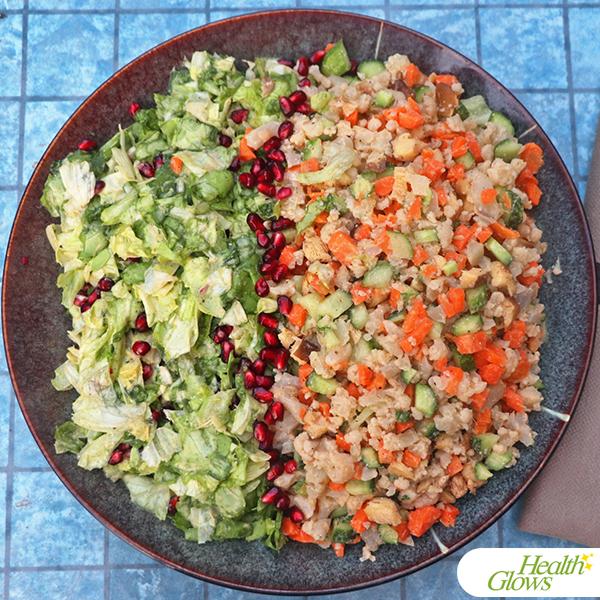 Raw Russian Salad