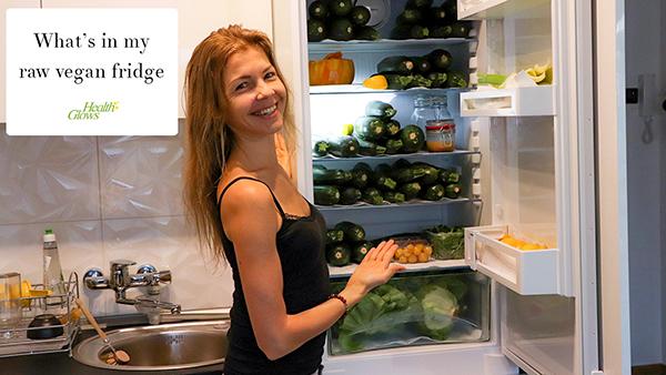 What is in My Fridge – Raw Vegan
